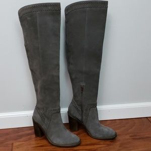 Shoes - Vince Camuto Madolee Suede Over The Knee Boot 7.5